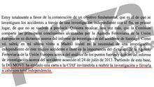 La comisaria europea de Transporte pide a España que reabra la investigación del accidente del Alvia