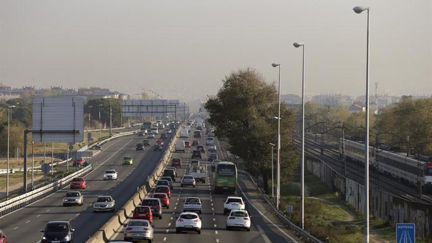Limitada la velocidad máxima a 70 km/hora en la M-30 y accesos a Madrid