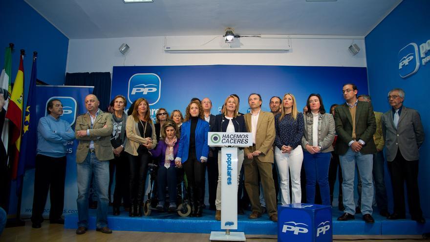 Elena Nevado presenta su lista electoral