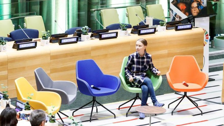 Greta Thunberg y jóvenes activistas piden en la ONU acciones contra el cambio climático