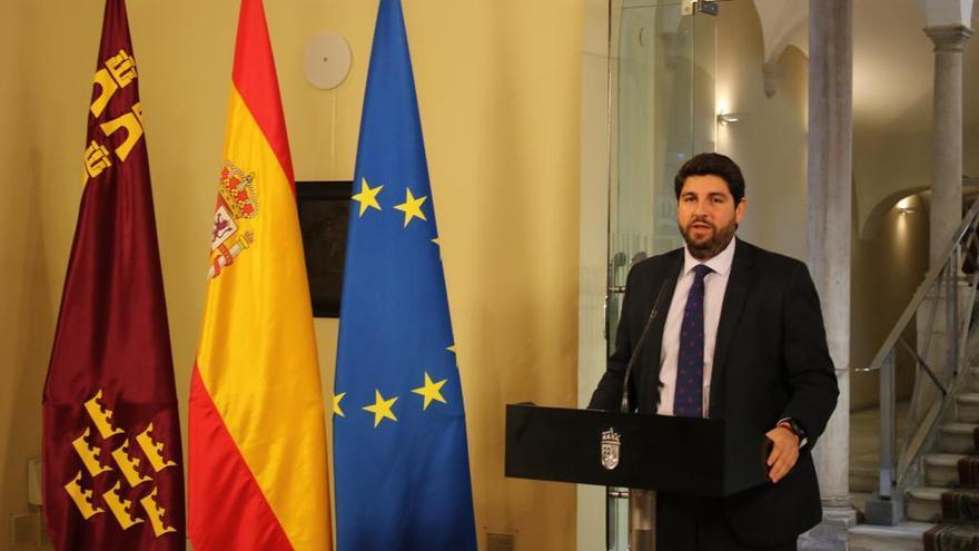 Fernando López Miras tras el primer consejo de Gobierno del 2019