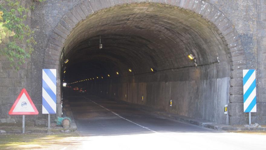 El túnel viejo de La Cumbre será remozado por el Cabildo.