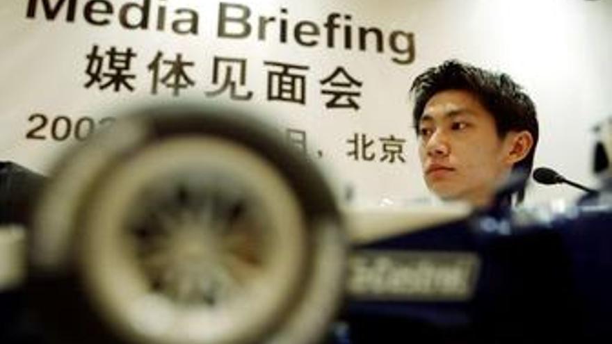 El piloto chino Ho-Pin Tung