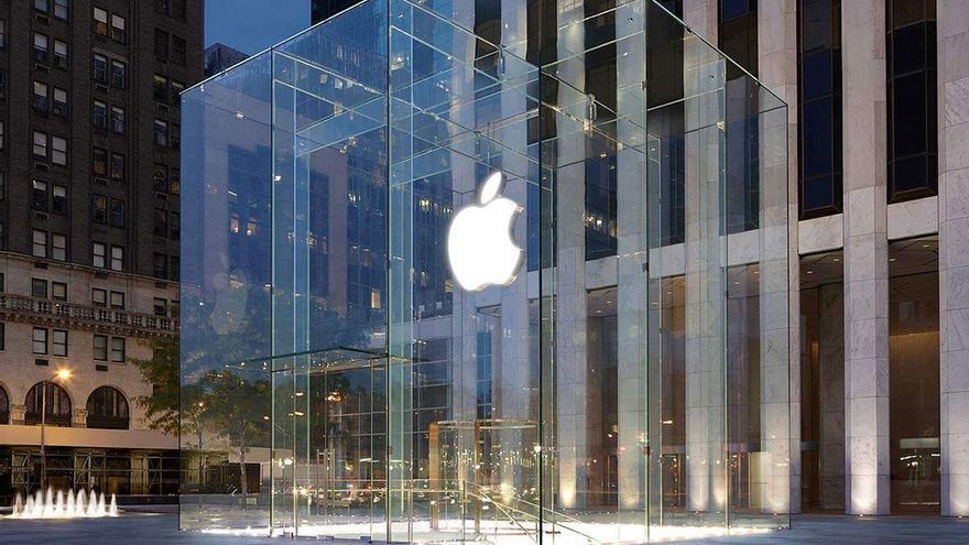 Apple Store, situada en la 5ª Avenida de Nueva York. (Apple)