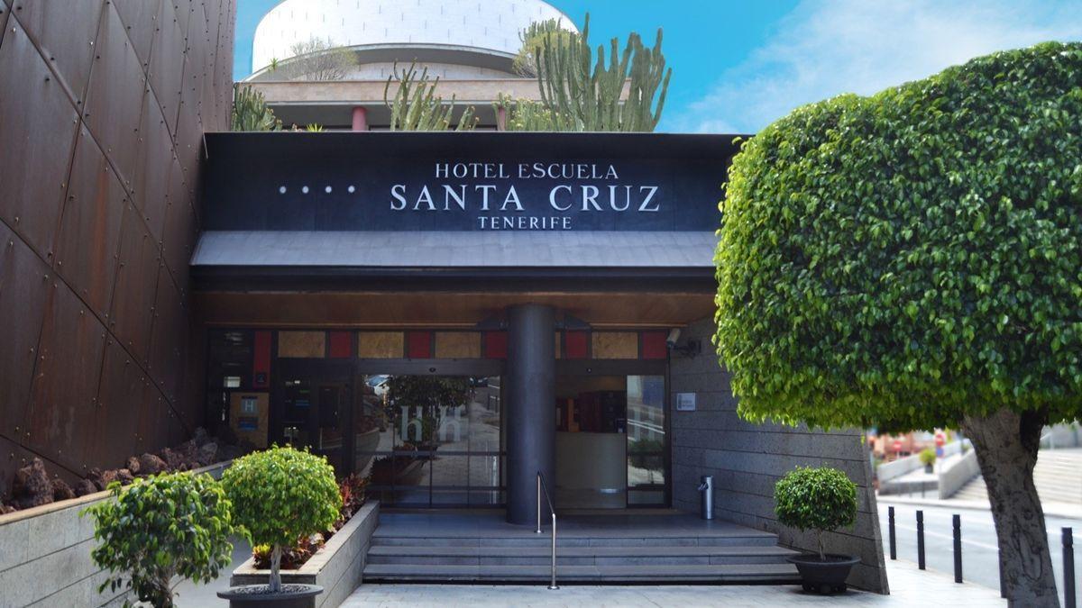 Hotel Escuela de Santa Cruz de Tenerife. (EUROPA PRESS)