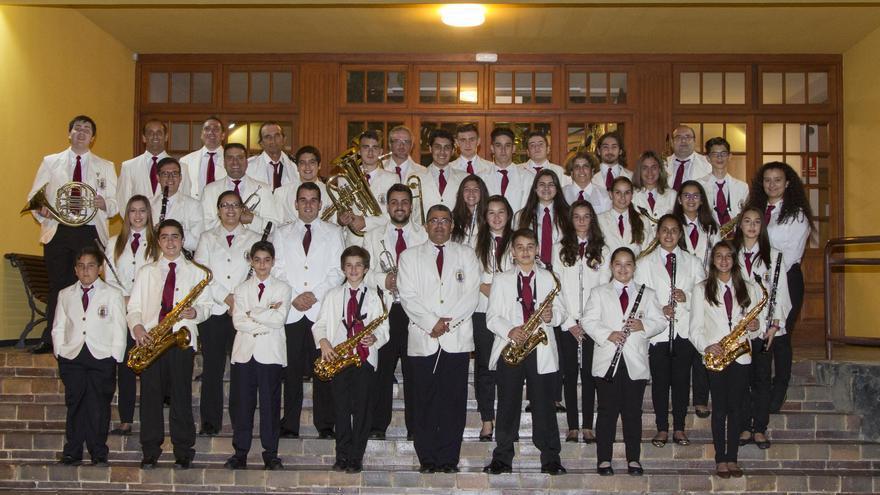 Banda de Música de Puntallana.