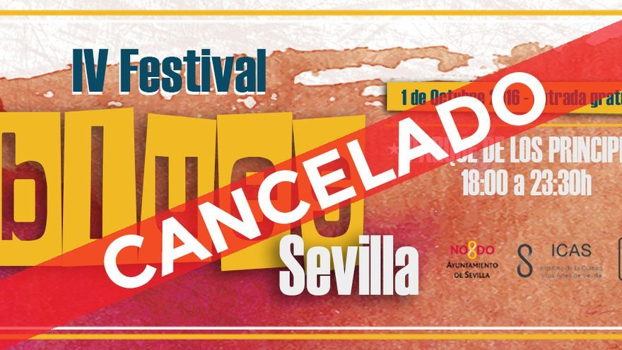 El Festival de Blues de Sevilla, como Territorios, también cancela a última hora su edición de este año