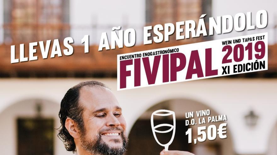 Cartel de la undécima edición de Fivipal.