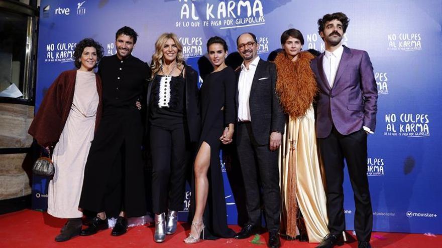 Tom Cruise, Verónica Echegui y el Miguel del Arco director llegan a las salas