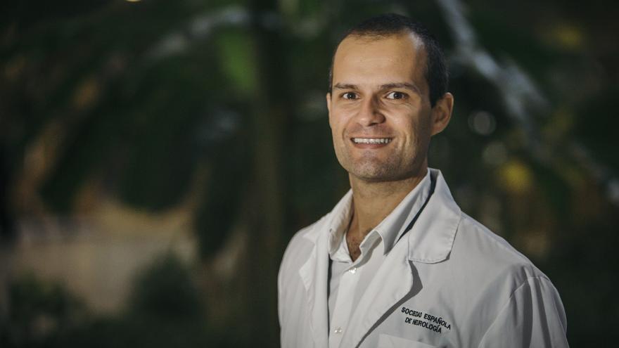 El canario Fernando Cabrera, coordinador de la Sociedad Española de Neurología.