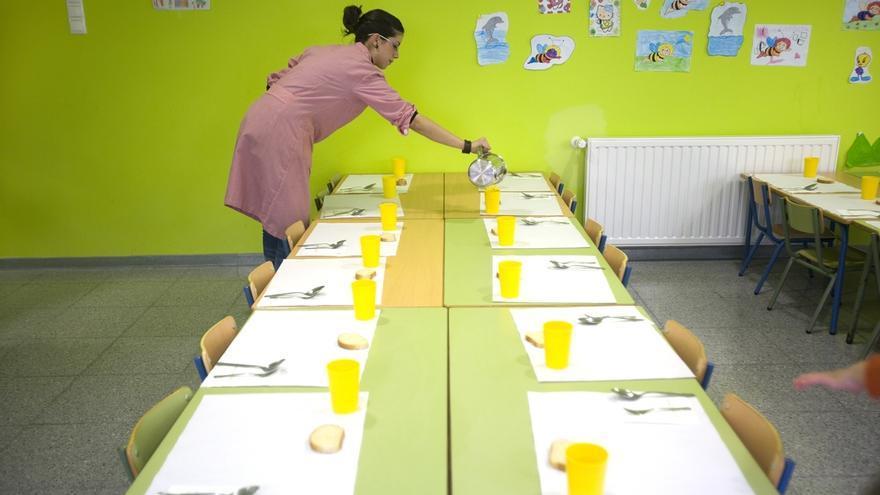 Los colegios tendrán libertad para elegir su modelo de comedor escolar