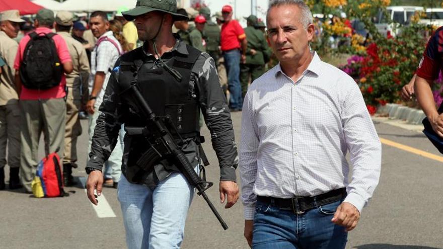 Desmantelan base de comunicaciones de una banda criminal colombiana en Venezuela