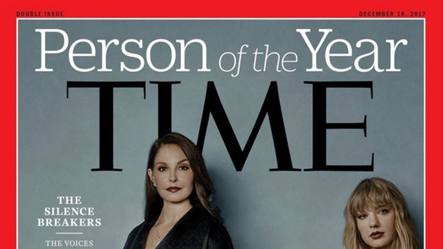 Portada de la revista TIME de la persona del año 2017.