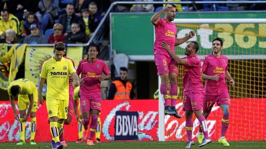 Imagen del encuentro disputado en El Madril entre el Villarreal y la UD Las Palmas.