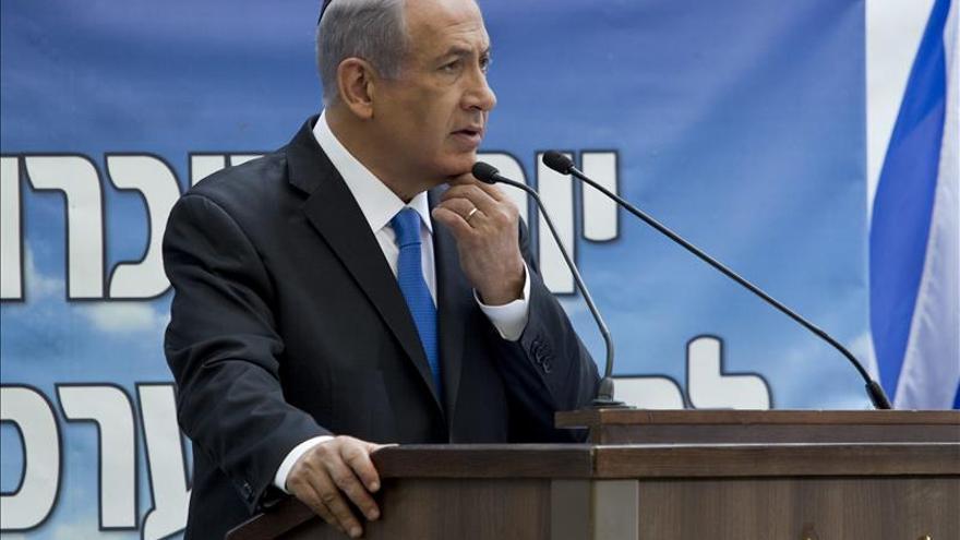 Los familiares de las víctimas de atentados abuchean a Netanyahu en una ceremonia oficial