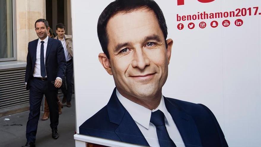 """Benoît Hamon: """"Francia está al borde de un ataque de nervios"""""""
