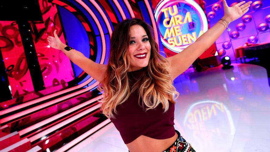 Lorena Gómez, en una imagen promocional de 'Tu cara me suena'