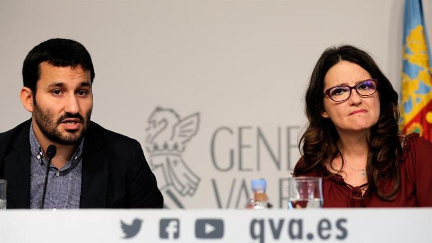"""Oltra invita a """"una reflexión colectiva"""" sobre la violencia del 9 d'Octubre"""