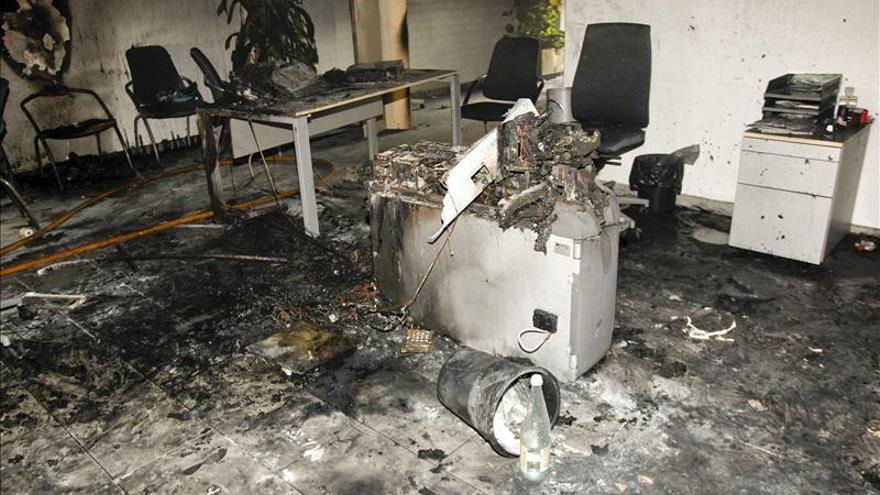 Fallece la mujer que se quemó a lo bonzo en sucursal bancaria de Almassora