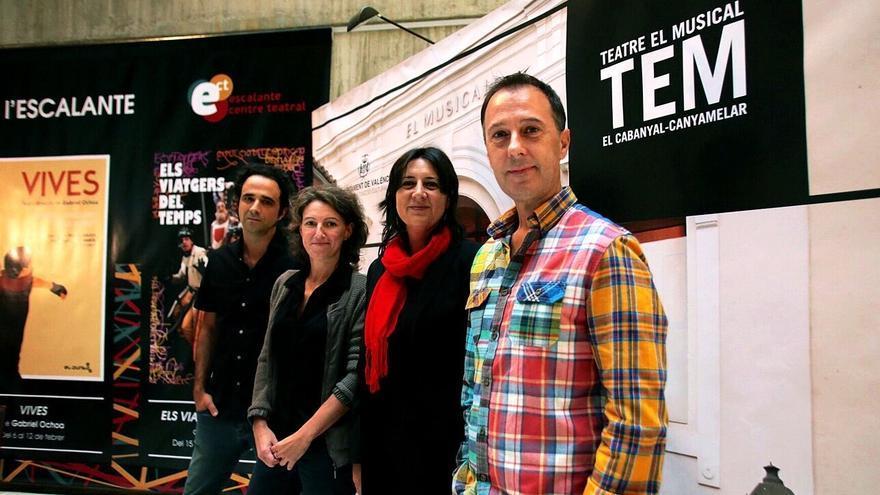 María Oliver, Rosa Pérez, Josep Policarpo y Xavo Giménez