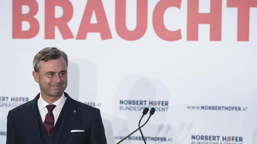 Hofer cierra la campaña e insta a los austríacos a estar orgullosos de su país