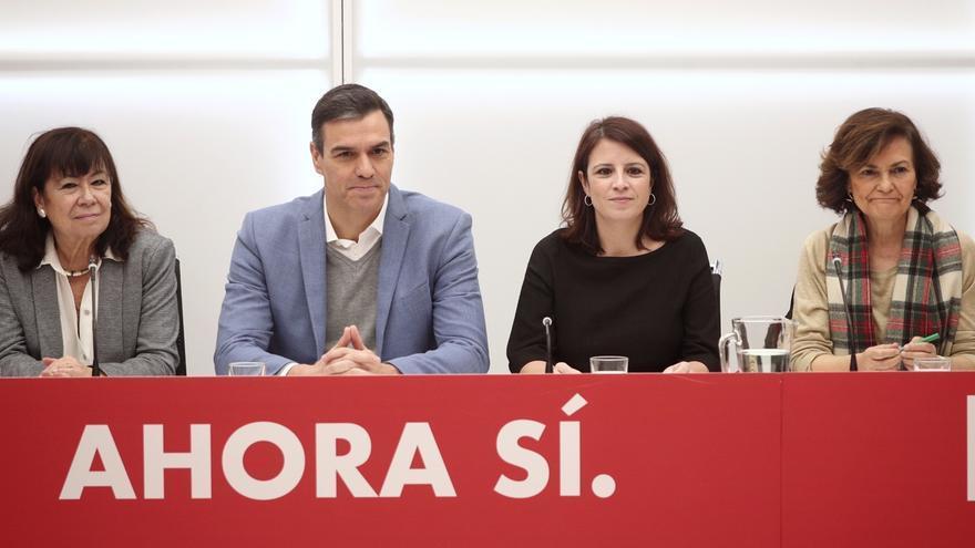 """Calvo aboga por afrontar con política la crisis en Cataluña, herencia de la """"pésima gestión"""" de la derecha"""