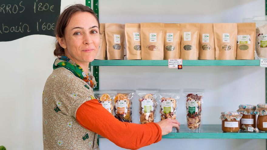 Carolina Sánchez es gerente del proyecto 'Sabores de Garafía'.