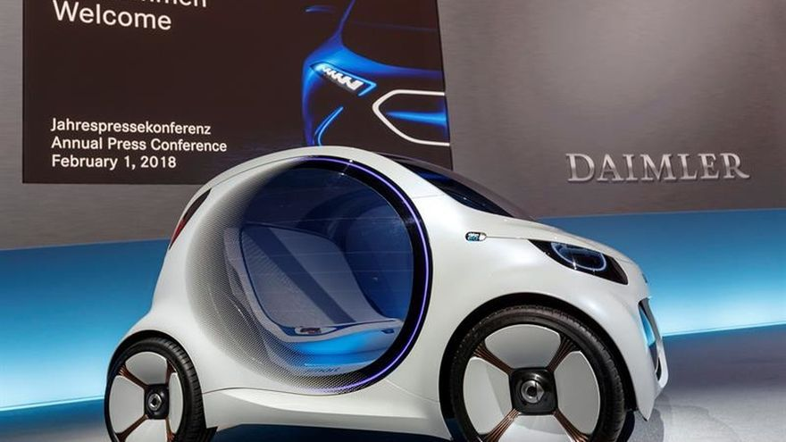 Daimler gana 10.900 millones de euros en 2017, un 24 por ciento más que en 2016