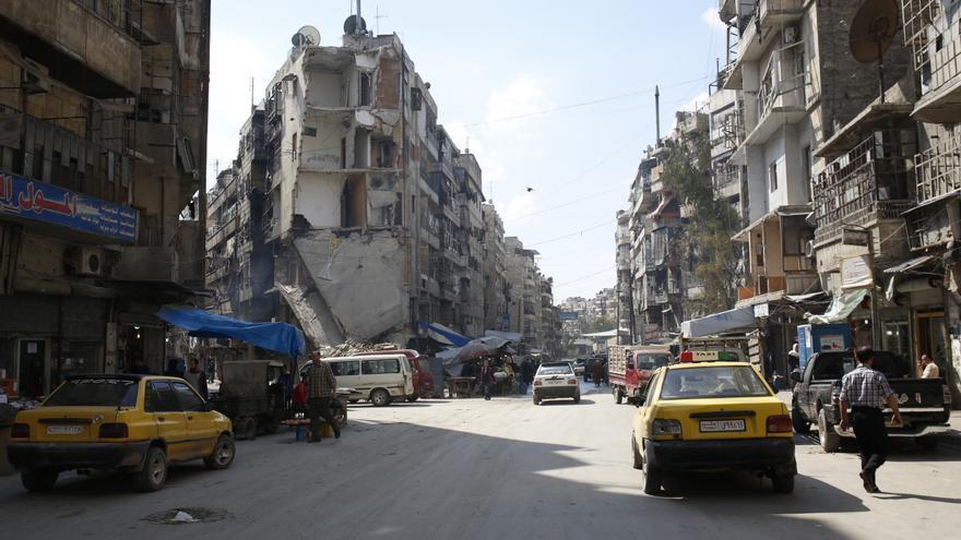 Vida diaria en Alepo. / Amnesty International (Photo: Mujahid Abu al-Joud).