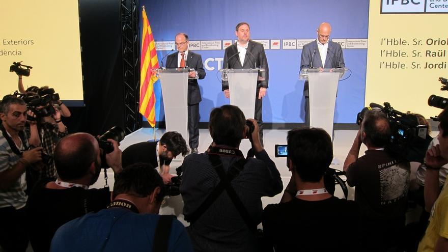 """Junqueras pide no caer """"en las provocaciones"""" del Estado para no votar"""