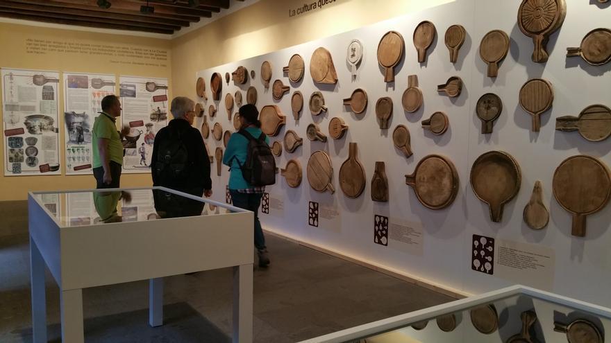 La exposición está siendo muy visitada.