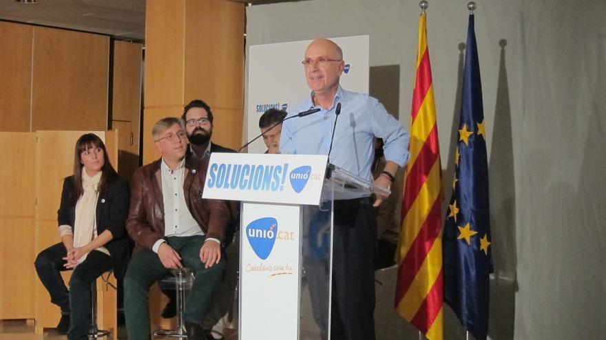 Duran (Unió) deplora el puñetazo a Rajoy