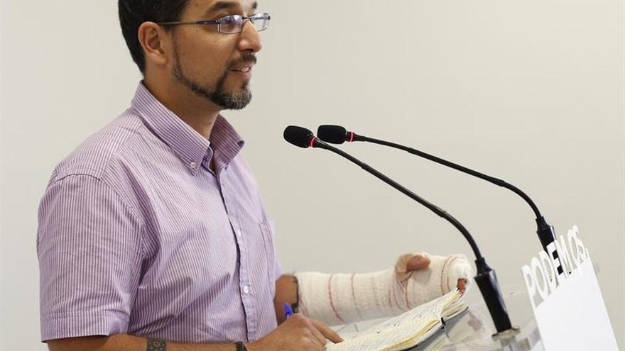 El hasta ahora secretario de Organización de Podemos, Sergio Pascual.