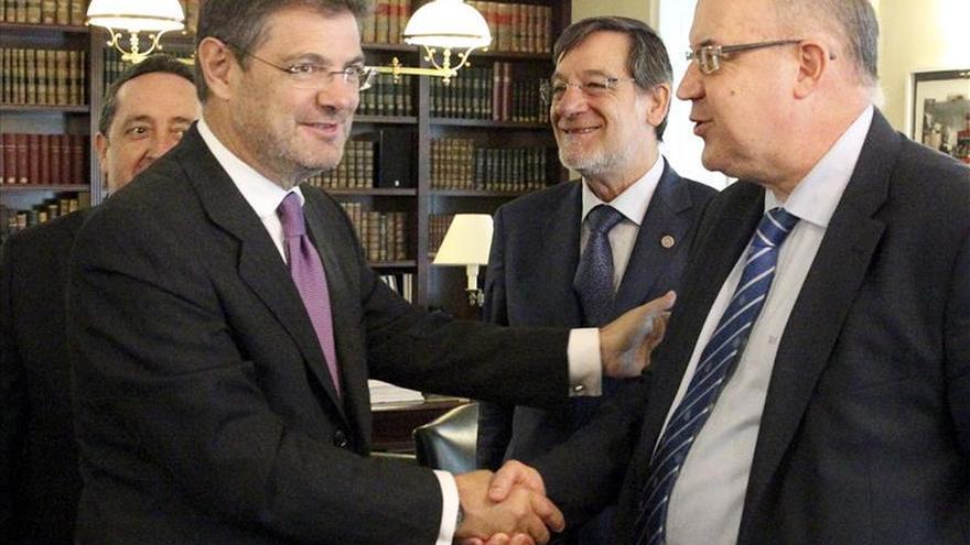 Catalá: las reformas en Justicia se critican, pero dudo de que se deroguen