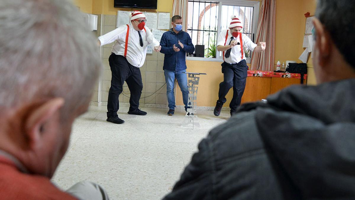 Una actuación en un centro de Faisem