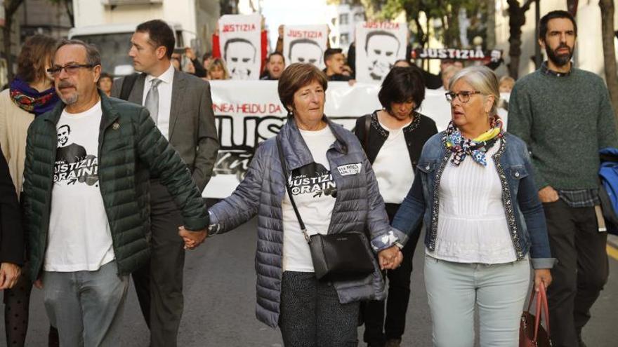 El ertzaina acusado: No éramos conscientes del poder letal de las pelotas de goma