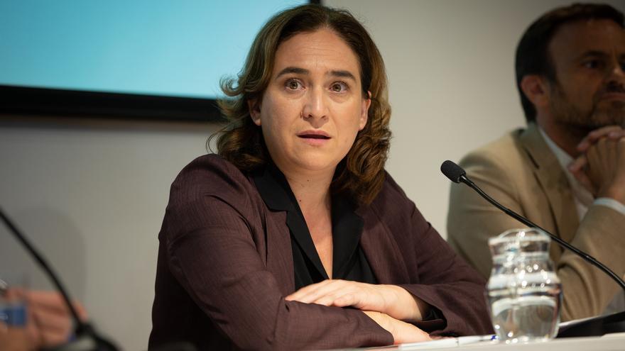 """Colau cree que el lema de Sánchez debería ser 'Ahora tampoco' por sus """"renuncias"""""""