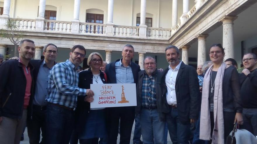 Jordi Juan, Emili Altur, Jordi Sebastià, Rafa Climent, Consol Castillo, Rafa Carbonell y Teresa García