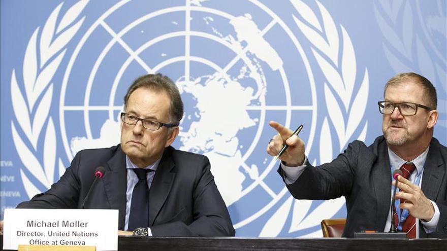 ONU: Las negociaciones de paz para Siria serán en Ginebra hacia finales de enero