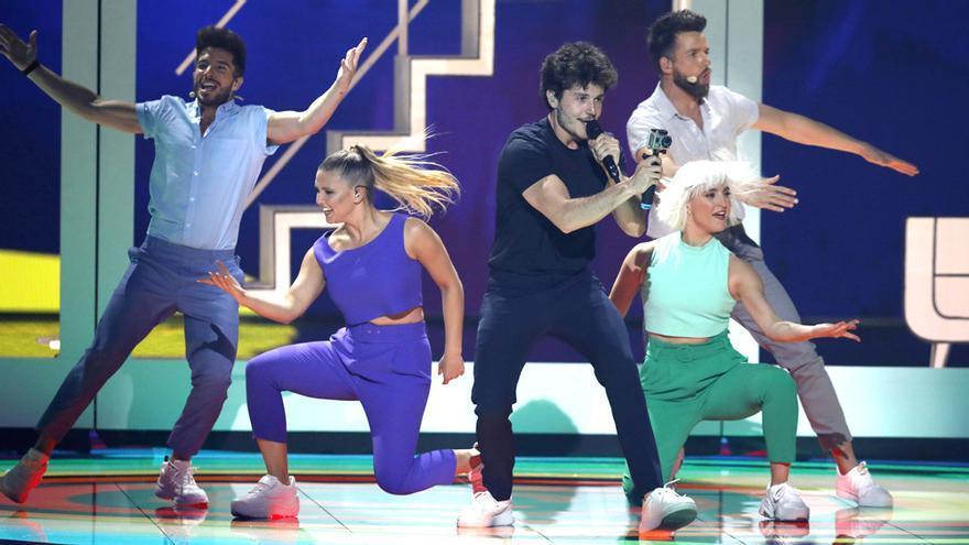 Actuación de Miki en Eurovisión 2019