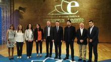 Los siete candidato a la Generalitat que han participado en el debate organizado por Levante TV / @AlbertoFabra