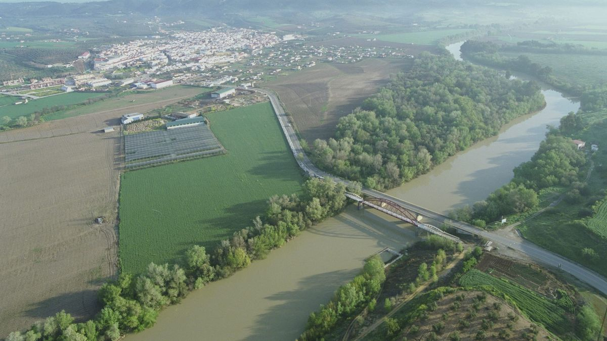 Imagen aérea de Villafranca de Córdoba.