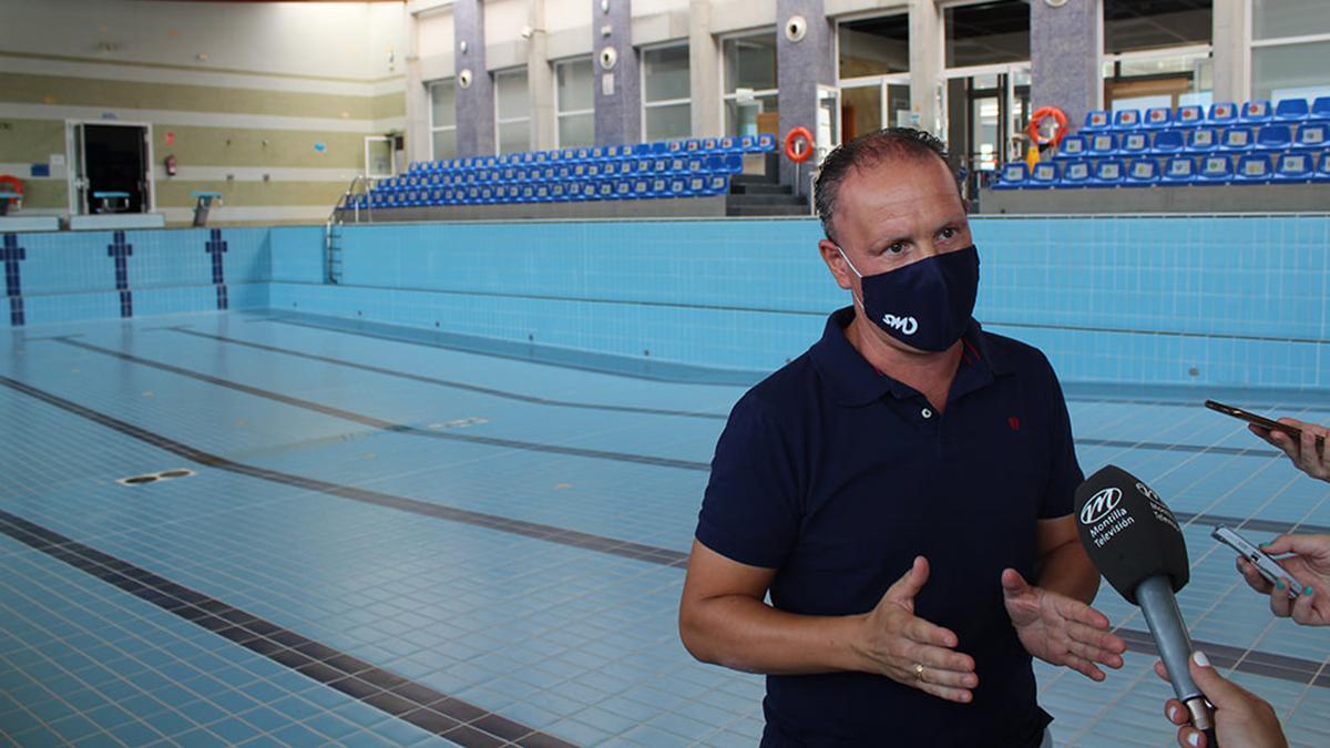 Miguel Sánchez, concejal de Deportes del Ayuntamiento de Montilla.
