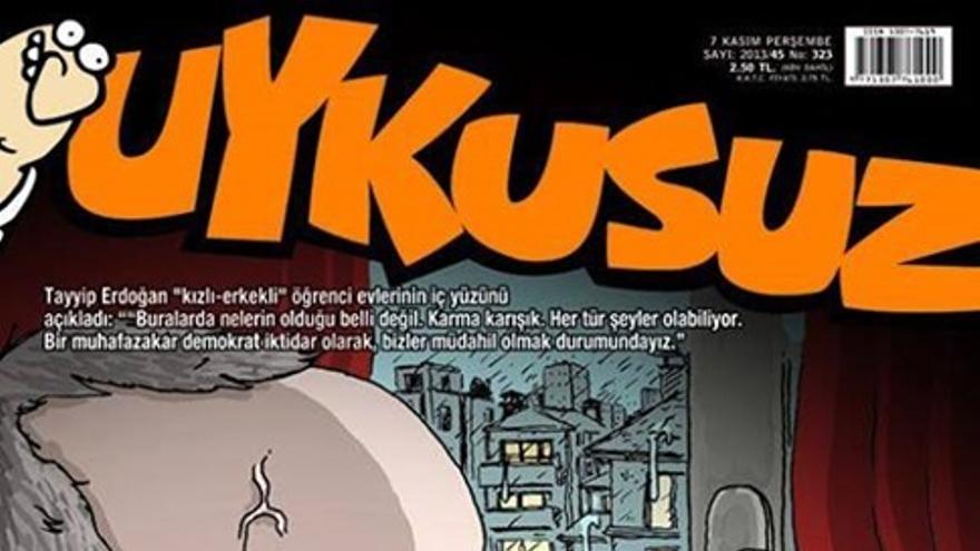 """Uykusuz: Erdogan, observando las residencias de estudiantes donde conviven chicos y chicas: """"Estoy deseando que todo el mundo se case para poder irme a dormir"""""""