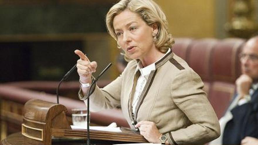 Ana Oramas, diputada de CC en el Congreso de los Diputados. (ACFI PRESS)