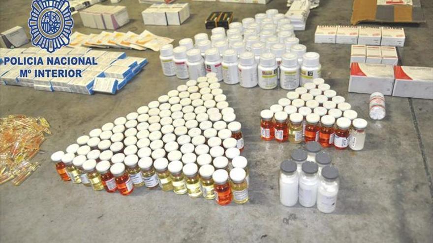 Policía desmantela en Mallorca una organización de tráfico de anabolizantes