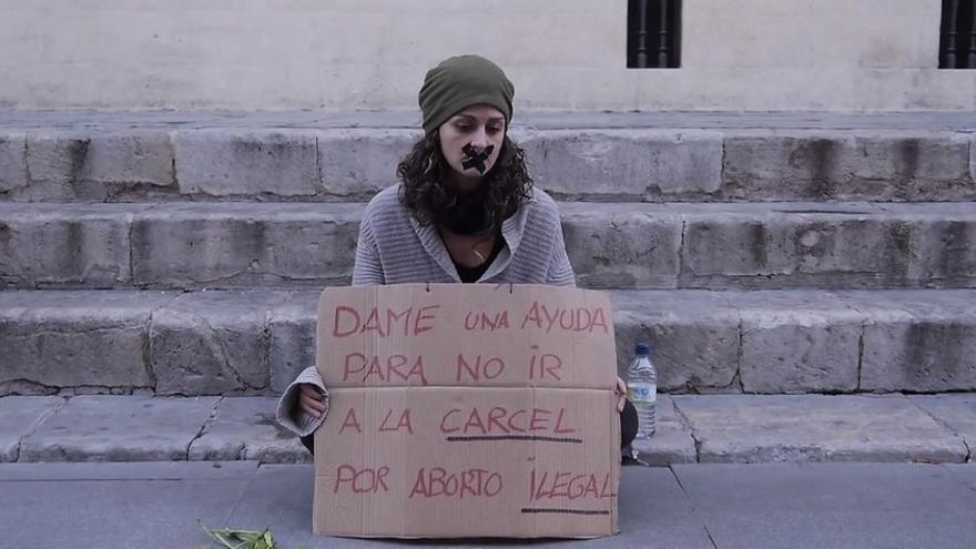 La Asamblea de Mujeres Diversas de Sevilla convocó una protesta en las calles del centro