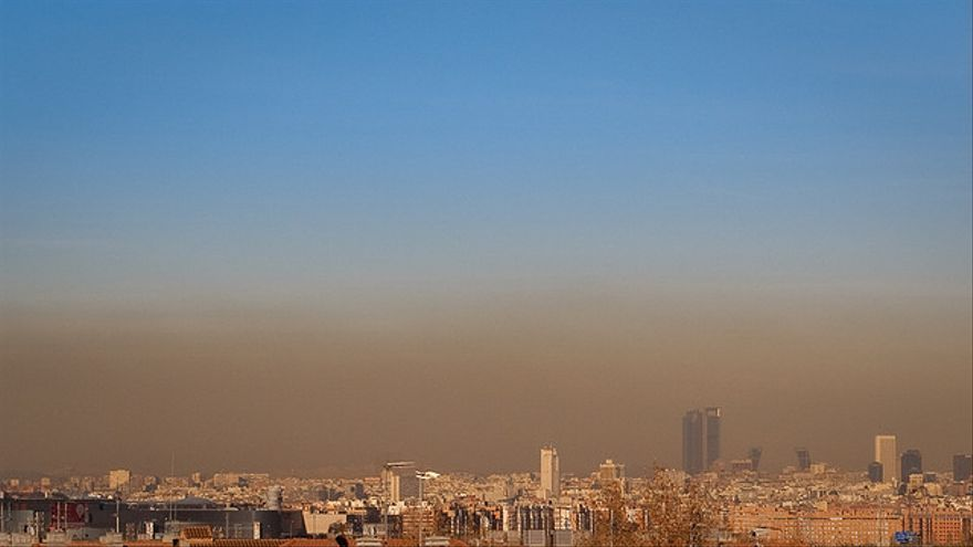 París, Madrid o Barcelona son ciudades en las que la contaminación está presente