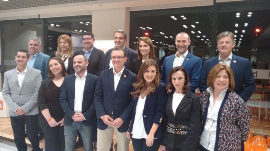 Candidaturas de C's al Congreso y al Senado por la Región de Murcia