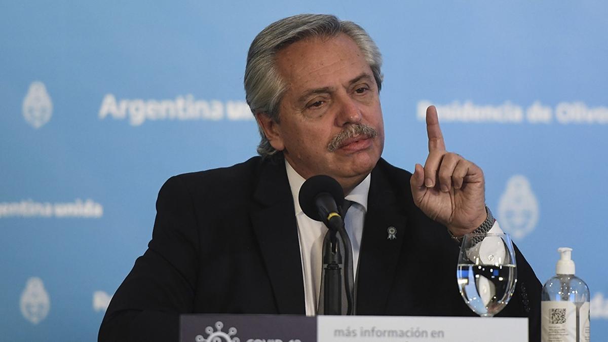 Alberto Fernández defendió las nuevas medidas restrictivas.
